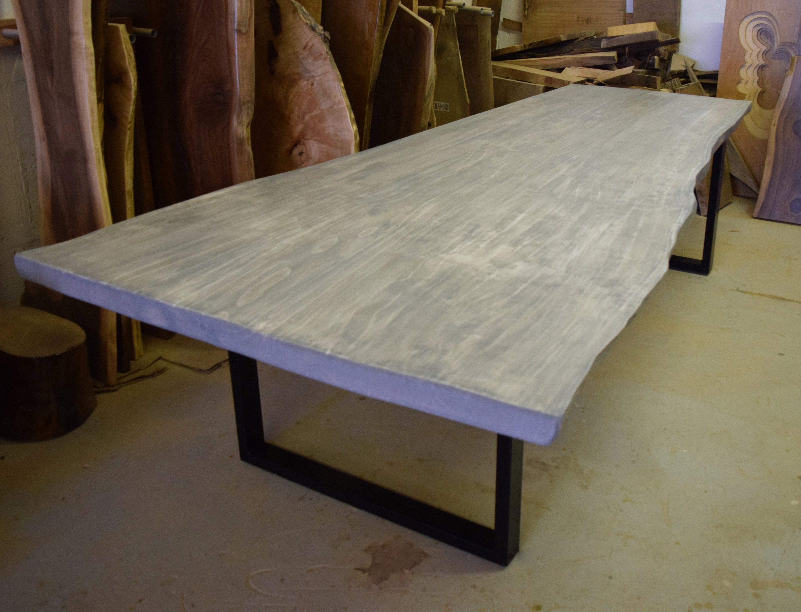dining live edge wood table transitional x