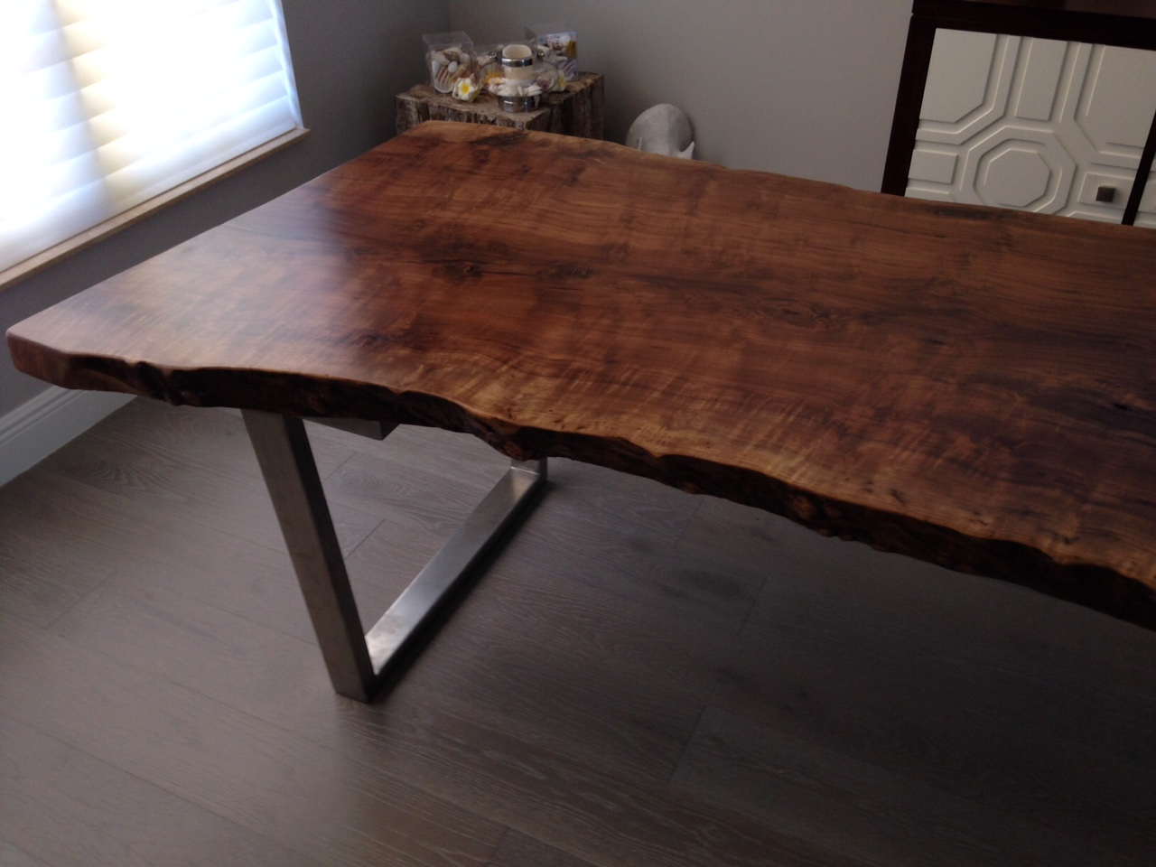 Walnut live edge dining table - Live Edge Table Live Edge Dining Table Walnut Dining Table Item 27