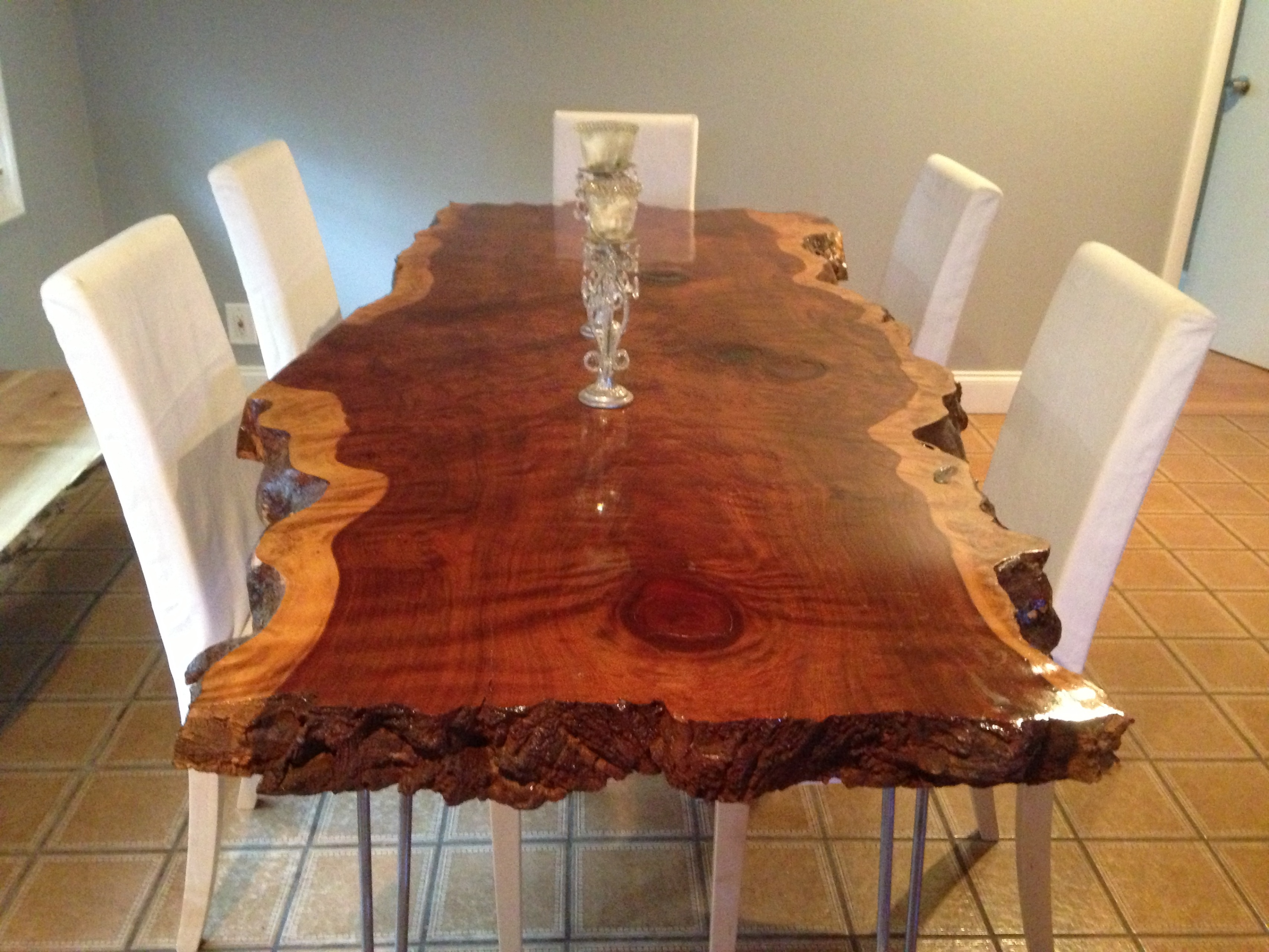 Live Edge Table Live Edge Dining Table Live Edge